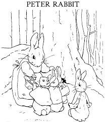peter rabbit coloring pages coloringtopcom