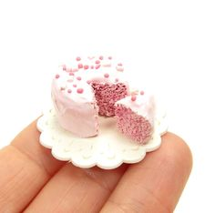 1 Inch Scale Miniature Dollhouse Cake