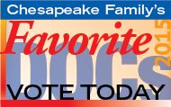 Tell us all about how awesome your health care provider is to nominate them for the prestigious Chesapeake Family 2015 Favorite Doc award.