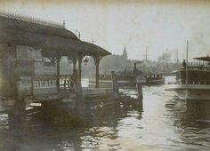 Circular Quay in Sydney in 1890. •State Library of NSW•