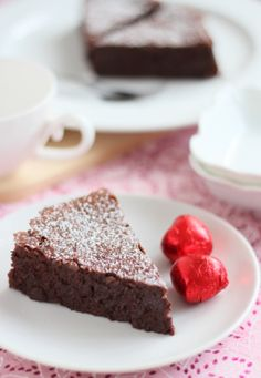 Flour-less Almond and Choco Cake. I have made this years before and it was simple and good.