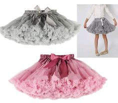 falda de niña TUL - Buscar con Google Little Girl Dresses, Girls Dresses, Flower Girl Dresses, Baby Skirt, Baby Dress, Chiffon, Kids Frocks, Tutus For Girls, Cute Outfits For Kids