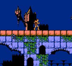 Akumajo Dracula / Castlevania Publisher: Konami, Nintendo (Arcade, GBA), Developer: Konami, Novotrade (Amiga), Unlimited Software (C64, DOS), Distinctive Software (DOS) Platform: Famicom Disk System, Famicom / Nintendo Entertainment System, Game Boy...