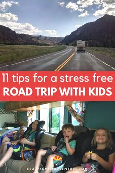 Dreading a long road trip with the kids? Let's be honest, Traveling with kids on a road trip is a challenge and takes a whole LOT of planning, but it doesn't have to grate the nerves with these 11 great ideas you can have a fantastic road trip with kids in tow! Allow us to take away your stress! That's right, let that stress melt away because with these 11 tips you'll have a good time and the kids will too! #RoadTrip #FamilyTrip #TravelWithKids #TravelTips Us Road Trip, Road Trip With Kids, Family Road Trips, Road Trip Hacks, Camping With Kids, Travel With Kids, Family Travel, Family Adventure, Adventure Travel