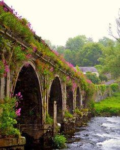 Puente de Inistioge. Condado de Kilkenny, Irlanda