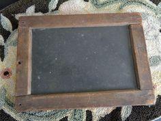 Primitive Antique Slate Chalkboard, Schoolhouse Slate by FairchildsInc on Etsy