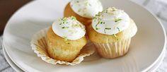 Cupcakes de Gin Tonic