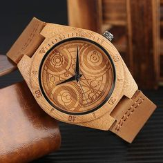 Wood Watch Dr Who Edition