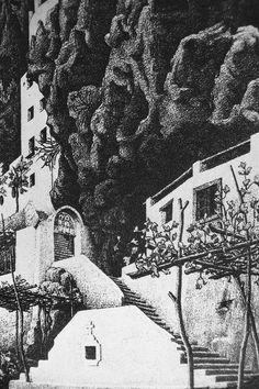 San Cosimo a Ravello 1932 MAURITS CORNELIS ESCHER Leeuwarden, 1898 – Laren, 1972