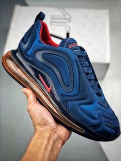 NIKE AIR MAX 720 AR9293-401 | Yupoo Shoes Sneakers, Nike Shoes, Hot Shoes