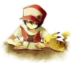 anime, pokemon und pikachu Bild bei We Heart It Pokemon Trainer Red, Pokemon Red, Pokemon Fan Art, Cute Pokemon, Pokemon Stuff, Pokemon Images, Pokemon Pictures, Manga Anime, Anime Art