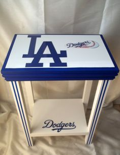 Los Angeles Dodgers Inspired Table Baseball MLB by drSportsCaves