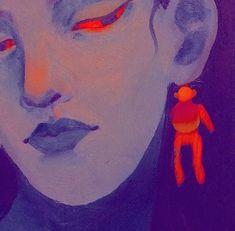Alluka Zoldyck, Illustration Art, Illustrations, Arte Sketchbook, Guache, Art Hoe, Pretty Art, Aesthetic Art, Oeuvre D'art