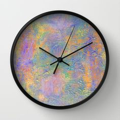 ROOTS 2 - RETRO Wall Clock by Morgan Ralston - $30.00