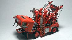 International Tow Truck - By Tom Hart Tow Truck, Ford Trucks, Snow Plow, Toms, Miniature, Scale, Plant, Models, Vehicles