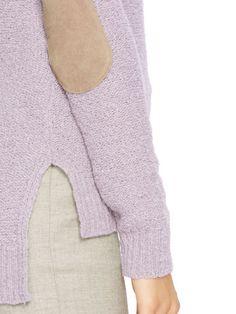 Elbow-Patch Sweater - Lauren Crewnecks & Tanks - RalphLauren.com