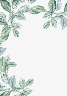 watercolor leaf frame material, Border, Border, Hand Drawn Border PNG and PSD Watercolor Border, Watercolor Plants, Watercolor Leaves, Leaf Border, Floral Border, Cute Wallpapers, Wallpaper Backgrounds, Fall Nail Designs, Flower Frame