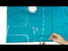 how to cutting and stitching lining blouse || latest model blouse designs - YouTube