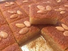 Arabic Dessert, Arabic Sweets, Arabic Food, Ramadan Sweets, Ramadan Recipes, Sweet Recipes, Cake Recipes, Dessert Recipes, Tunisian Food