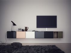 Love the discreet speakers...montana tv hifi mix