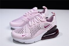 quality design 52616 90941 WMNS Nike Air Max 270 Barely Rose Vintage Wine-Elemental Rose-White AH6789.  601 – With Sneaker