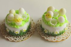 Hatched! Easter cake by Asakomini