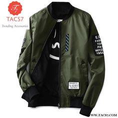 6172bb5b517 Casual Thin Pilot Wind Breaker Jacket for Men