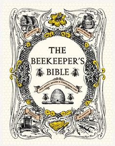 I just like everything about this...bees, books, so pretty.