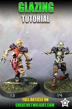 Glazing is a very simple technique that can really strengthen a good paint job. From subtle color shifts to full-on blending, glazing is a technique everyone should learn. Painting Tips, Figure Painting, Painting Techniques, Painting Tutorials, Mini Paintings, Cool Paintings, Warhammer Paint, Warhammer 40000, 28mm Miniatures