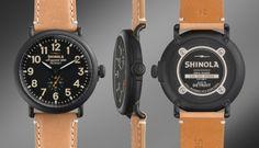 THE RUNWELL 47mm Tan Leather Watch   Shinola®