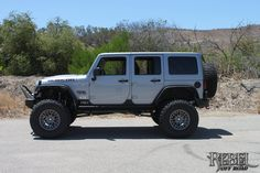 Silver Fox - 2013 10th Anniversary Rebelcon: Side view of the modified Jeep.