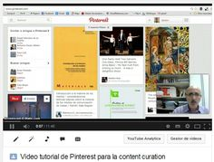 Tutoriales de Scoop.it y Pinterest para la content curation