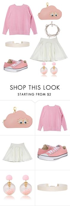 """""""🐁"""" by julietpenrose ❤ liked on Polyvore featuring Sophie Hulme, Isabel Marant, Milly, Converse, Humble Chic and Alexander McQueen"""