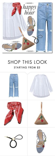 Bottoms Up: Happy Hour by paculi on Polyvore featuring Gianvito Rossi, Bølo, Topshop and happyhour