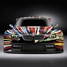 the only thing better than an M3 is an M3 Art Car.