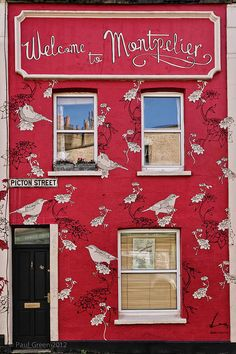 Welcome to Montpelier, Bristol, England, United Kingdom, photograph by Paul Green. Bristol Street, City Of Bristol, Bristol Uk, Colourful Buildings, Beautiful Buildings, Montpellier, Bristol England, England Uk, Colors