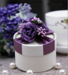 Find More Storage Boxes & Bins Information about 100pcs free shipping Purple color 70*50mm Round Chocolate Paper Storage Boxes Wedding Party Favor Candy Storage Packaging Boxes,High Quality box dye,China box babies Suppliers, Cheap box film from Super-Marie Decoration & Accessories Wholesale Store on Aliexpress.com