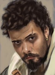 The Musketeers fan art - Porthos by Kaijago