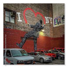 :: I Love NY - #iPhotography Location - #W20s #Chelsea #NYC Subject - #StreetsOfNewYork #UrbanArcheology #WallArt #Artist - Nick Walker @NickWalker_Art Camera - #Apple #iPhone6 #EvanSante  Please consider following my #Instagram Feed - http://ift.tt/1S9w64J  2015 - Evan Santé - All Rights Reserved