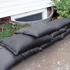 "12 FT Sandbag Barrier Reusable Water Tube Diversion Flood Rain Camp Hike 6/"" High"