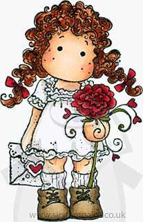 SO: Sweet Crazy Love - Tilda sending Love Letter