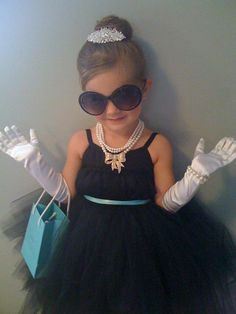 Cutest Audrey Hepburn Costume Ever!!! Made by my best friend @Si