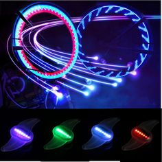 7 Led Bicycle Cycling Bike Wheel Light 12 Different Random Colors Colorful Lamp For Night Riding Safe-in Bicycle Light from Sports & Entertainment on Aliexpress.com | Alibaba Group