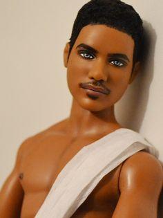 Cannon- Barbie Basics 15 Ken OOAK Repaint by Doll Anatomy ...