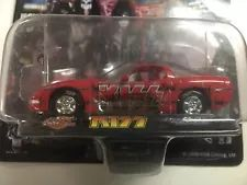 KISS LIMITED EDIT. STEEL DIE CAST CAR; Paul Stanley, Gene Simmons, Ace Frehley