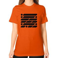 M_O_R_S_E Dark Variant Unisex T-Shirt (on woman)