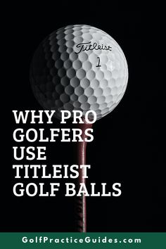 Learn all about the Titleist Pro V1 golf ball and the Pro V1x golf ball in today's blog review by GolfPracticeGuides.com. Get a better feel for what makes this golf ball top of the class and why so many professionals on the PGA Tour use the Pro V1 golf ball. #golf #golfballs #golftips #prov1 #titleist