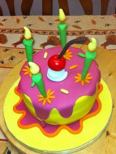 Candles Cake