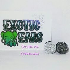 ExoticEars silver or charcoal druzy plugs #plugs #gauges #stretchedears #gaugedears #prettyplugs #rocker #emo #goth #druzy #druzzy #druzyplugs #druzzyplugs #cuteplugs #plugsforgirls #plugsforguys #iloveplugs #ears #bodymod #piercing #stretchedlobes #exoticears #galaxy #galaxyjewelry #galaxyearrings #galaxyplugs #galaxygauges
