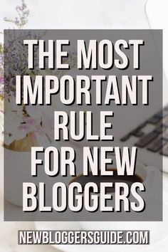 The Number One Rule for New BloggersIf your goal is to make money with your blog, as a new blogger, there are a few things that you'll want to keep in mind. If you don't remember these few things, it's easy to get discouraged, throw up your hands and walk away from blogging. I don't want that for you, because blogging can actually bring you a very rewarding career, if done right... #blogging #blogger #blog #makemoney